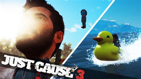 duck boat just cause 3 just cause 3 big head rubber duck boat just cause 3
