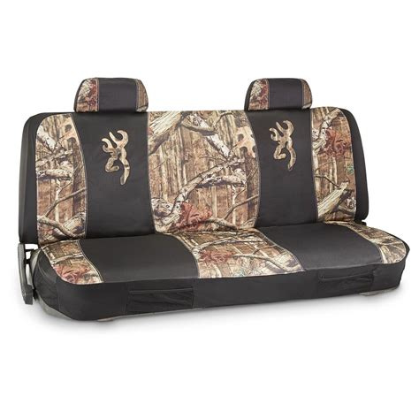browning bench seat covers browning seat cover universal mossy oak break up