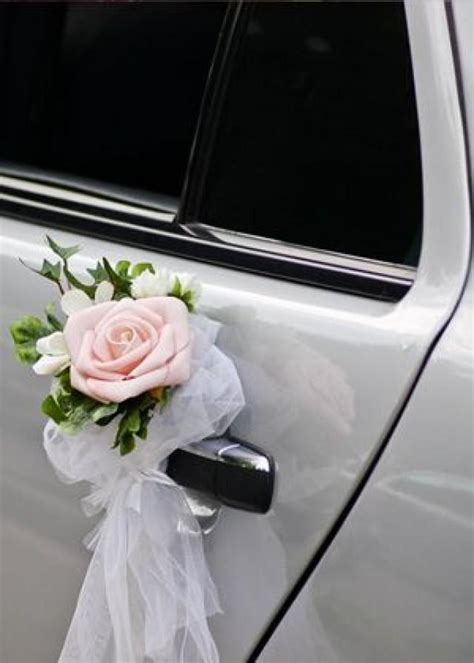 wedding car decorations with flower bouquet pictures car flower wedding car 2499652 weddbook