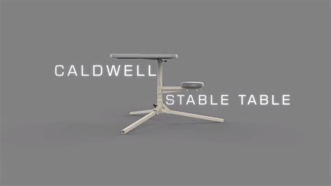 caldwell stable table shooting bench caldwell stable table deluxe shooting bench 252552 26