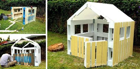 pallet play house how to build a pallet playhouse total survival