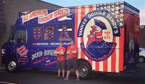 yankee doodle dandy food truck baltimore yankee doodle dandy s new york food trucks roaming hunger