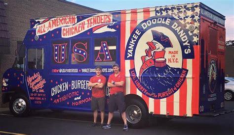 coq a doodle food truck yankee doodle dandy s new york food trucks roaming hunger