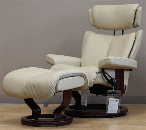 Camel Leather Recliner by Stressless Camel Leather By Ekornes Stressless