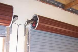 roll up garage door rdo motor installed eec secure