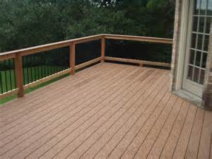 composite deck decks austex fence and deck
