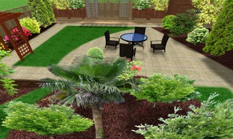 Small Landscape Garden Ideas Beautiful Homes Decorating Ideas Ideas Garden Landscape Design Gardening Small Back Yard