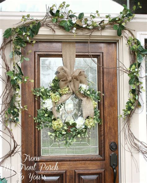 spring decorating ideas for your front door from my front porch to yours simple spring front porch
