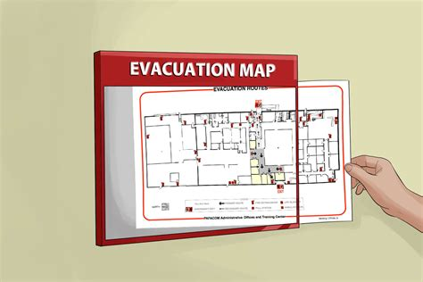 How To Evacuate A Building In An Emergency 11 Steps Building Evacuation Map Template