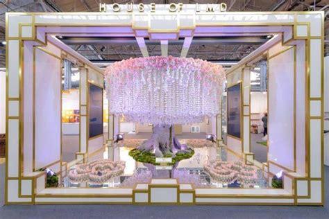 home design show architectural digest fantastical floral installations lori morris