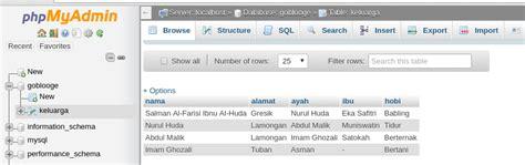 membuat database menggunakan excel membuat download excel menggunakan native php dengan