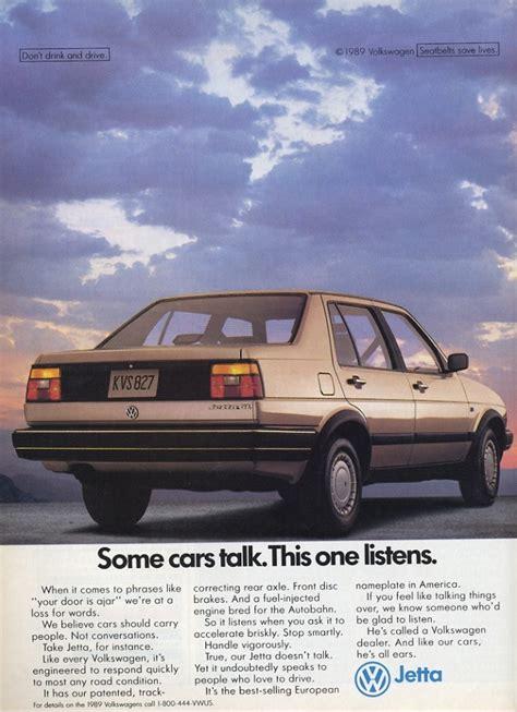 volkswagen jetta ads 1989 volkswagen jetta ad autos 70 s y 80 s pinterest