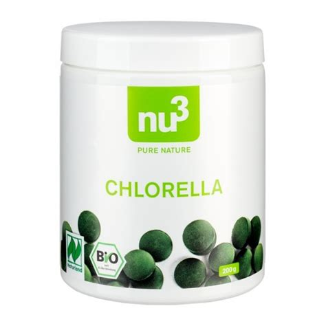 Jo Poff Chlorella Detox Pregnancy by Nu3 Organic Naturland Chlorella Buy Tablets Here At Nu3