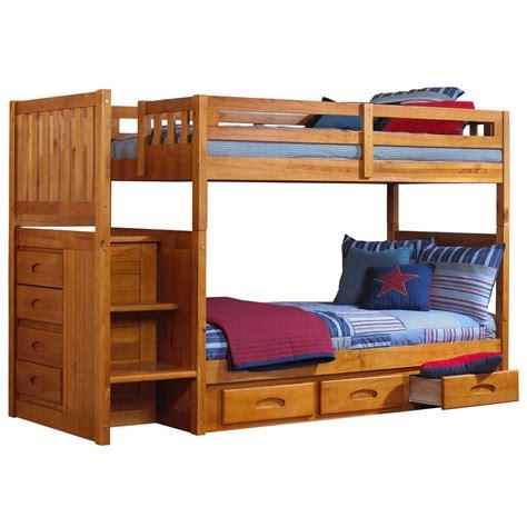 Ranjang American tempat tidur anak desain minimalis tingkat