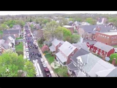 perkasie tree lighting 2017 drone footage perkasie league parade 2017