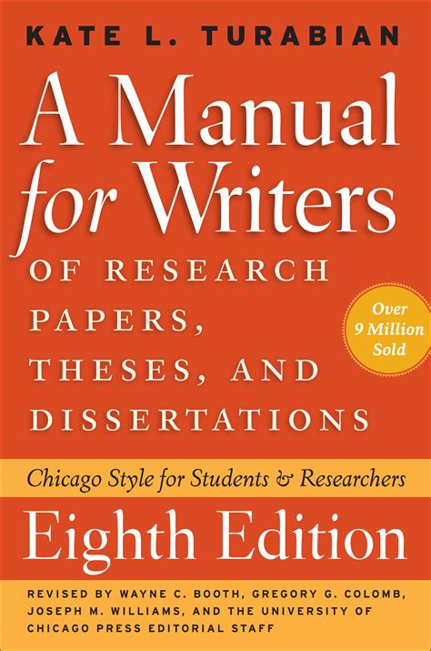 dissertations and theses a manual for writers of research papers theses and
