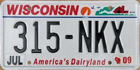 Wisconsin Vanity Plates wisconsin 2 y2k