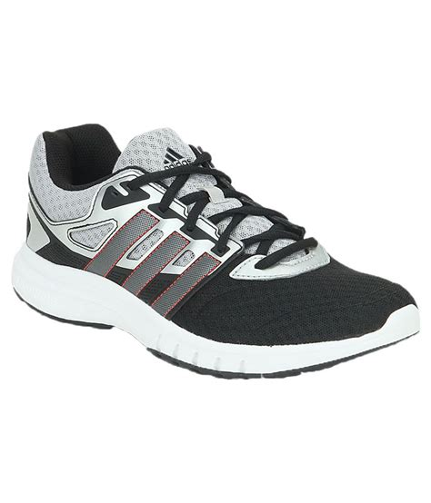 adidas black running sports shoes