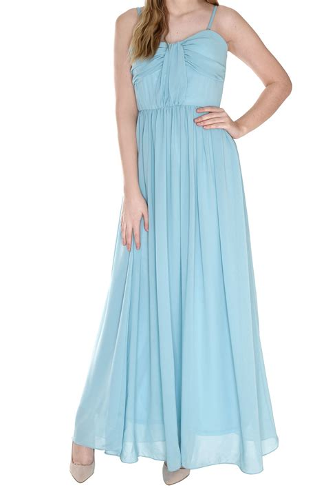 light blue pleated dress true decadence bow pleat maxi dress in blue light blue