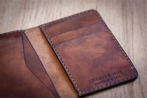 Handmade Leather Gifts - best 25 minimalist wallet ideas on leather
