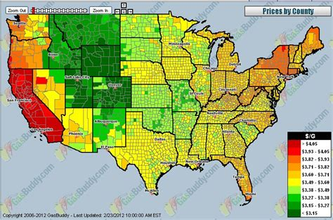 what is a map price chart how much are you paying usa national gas price