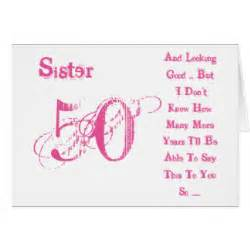 sisters 50th birthday gifts on zazzle