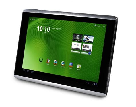 acer android tablet acer s new wi fi android tablet unveiled wired