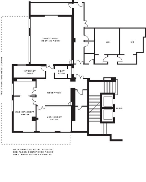 Open Layout Floor Plans Moscow Event Venues Amp Meeting Rooms Four Seasons Hotel