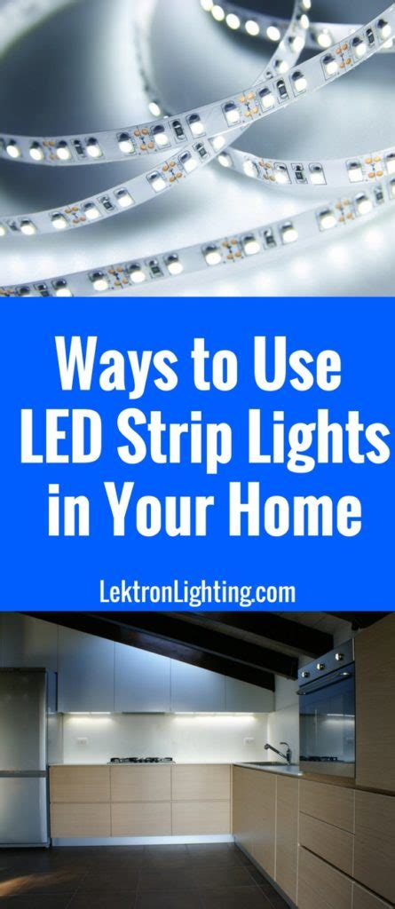 led lighting ideas for home 20 led light ideas for your home lektron lighting