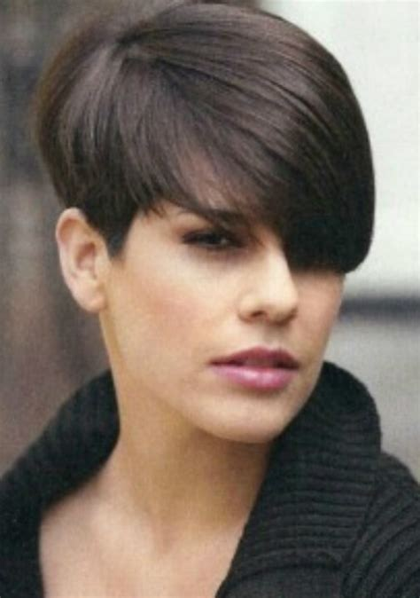 long wedge bob with bangs wedge haircuts and hairstyles for women 2016 2017 short