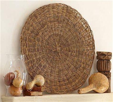 Ballard Design Fabrics basket wall art pottery barn