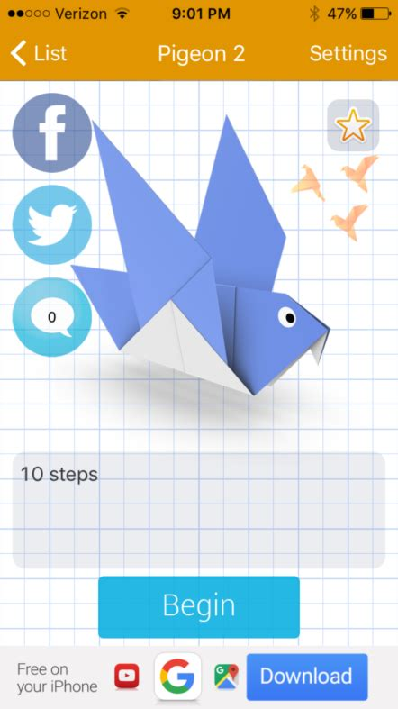origami app best origami app 28 images how to make origami ios