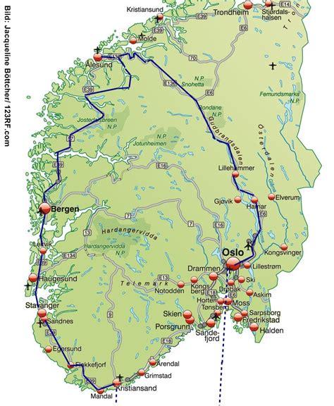 Norwegen Rundreise Auto norwegen rundreise fjorde und berge auto motorrad reise