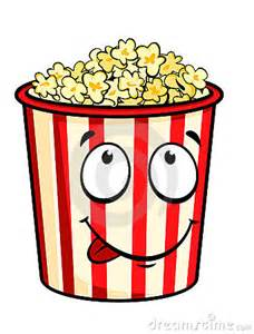 Cartoon popcorn royalty free stock image image 19605326