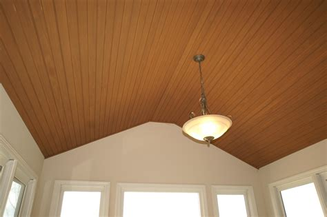 T G Wood Ceiling by