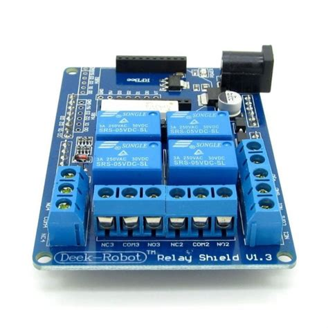 Arduino Relay Shield 4 Channel 4 channel relay and xbee shield for arduino