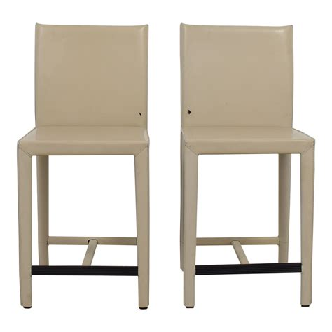 Crate And Barrel Leather Counter Stools 61 crate and barrel crate barrel folio leather