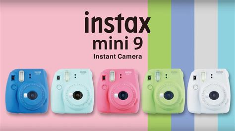fujifilm instax colors fujifilm announces instax mini 9 new colours selfie