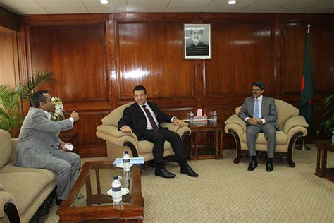 Mofa Dhaka by Meeting With State Minister For Foreign Affairs 187