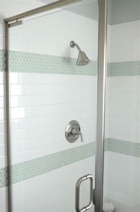 penny tile bathroom ideas 30 penny tile designs that look like a million bucks