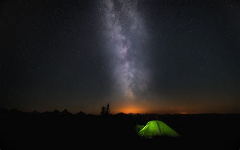 Night Camp Sky Stars Wallpapers   HD Wallpapers   ID #17325