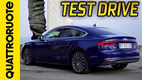 Audi A5 Sportback Test by Nuova Audi A5 Sportback Il Test Drive Di Quattroruote
