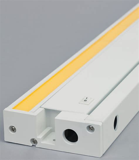 led under cabinet lighting direct wire tech 700ucfdw unilume contemporary led direct wire under