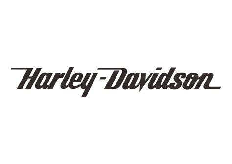 White Outline Font by Harley Davidson Logo Vector Studio Design Gallery Best Design
