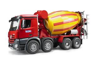 Truck Zabawka Wheels Top 5 Bruder Cement Mixer Truck Toys Reviews