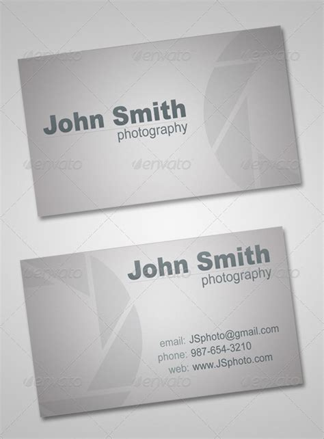 freelance business card template photographer business card by try4ce graphicriver