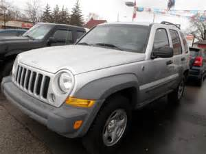 2005 Jeep Liberty Rims 2005 Jeep Liberty Sport Cambridge Ontario Used Car For Sale