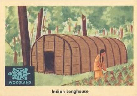 indian trade price guide 1959 indian trading card indian longhouse 30 non sports