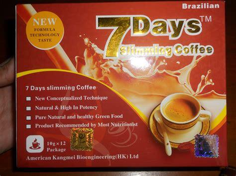 Mercury Detox Coffee by 7 Days Slimming Cofee