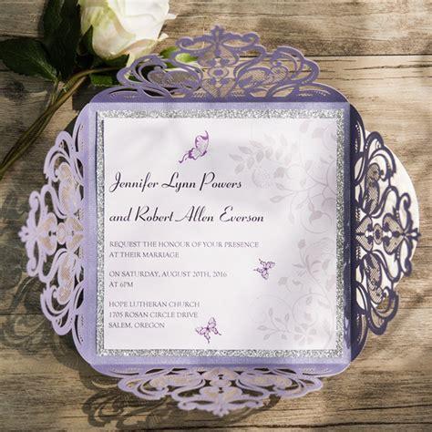 Wedding Anniversary Date Ideas Philippines by Purple Wedding Invitations By Wedding Invites